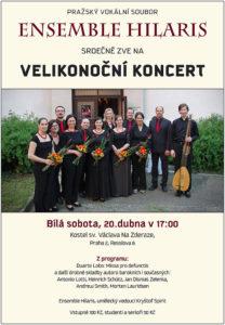 Velikonoční koncert @ Kostel sv. Václava Na Zderaze