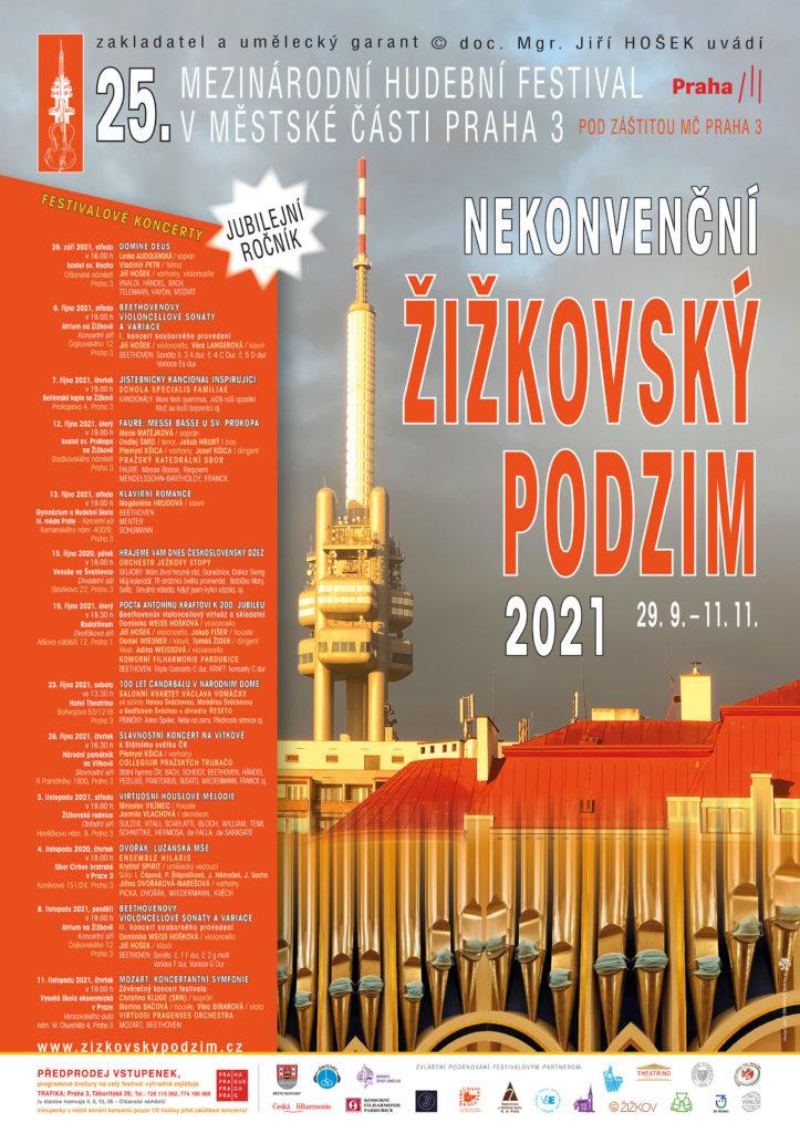 Nekonvenční žižkovský podzim @ Sbor Církve bratrské v Praze 3